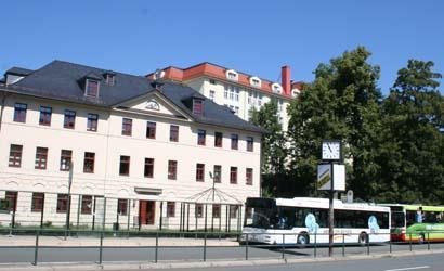Firmensitz der Verkehrsverbund Vogtland GmbH in Auerbach